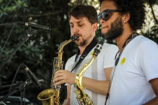 Banda Do Brás (sax) - Daniel Cancello e Wellington Viana